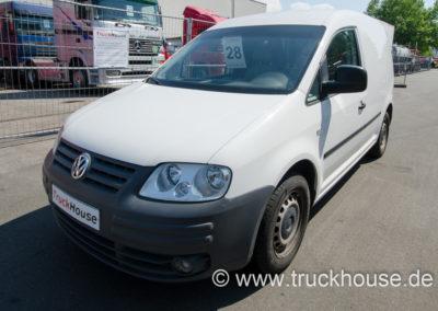 VW Caddy 1.9 TDI mit Werkstattschrank