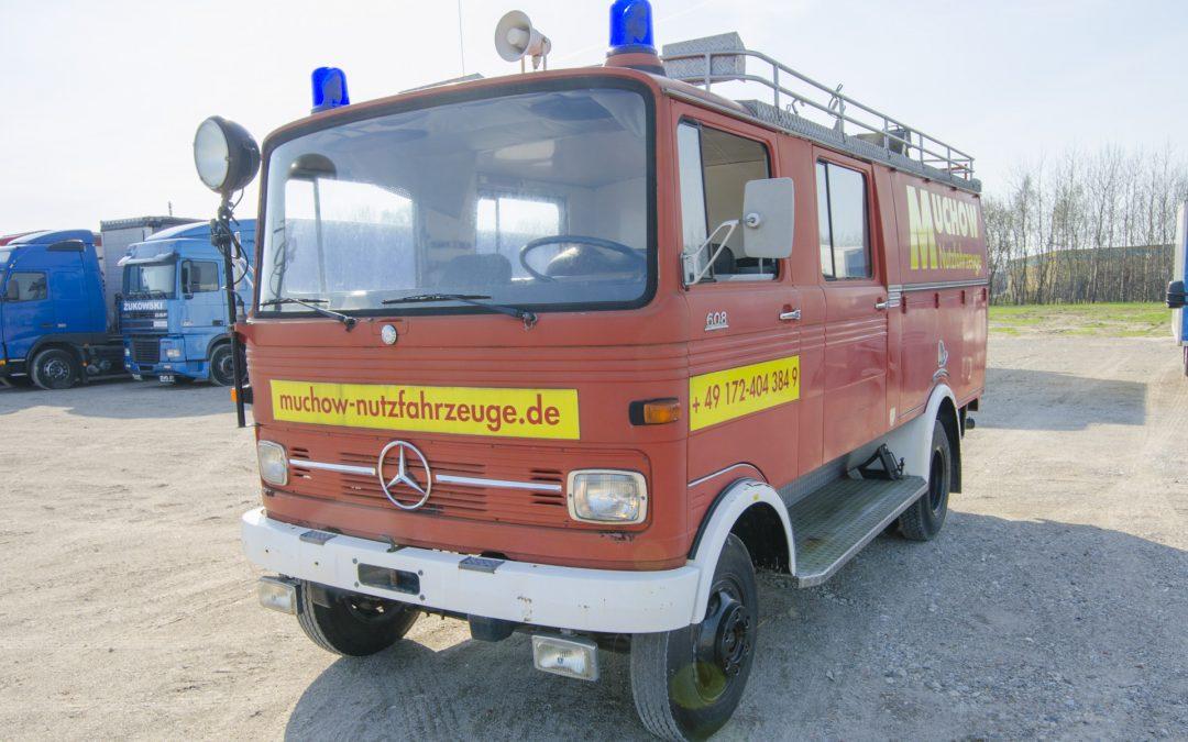 Daimler-Benz LP 608 #M923696