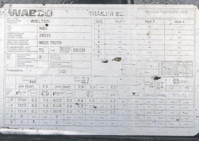Wielton NS-3 Sattelauflieger