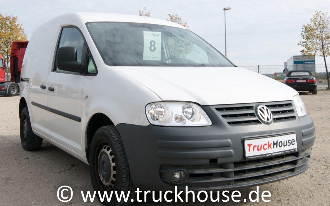 VW Caddy 2.0 Ecofuel