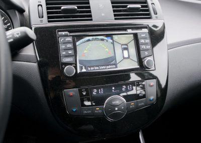Nissan Pulsar Navigationssystem