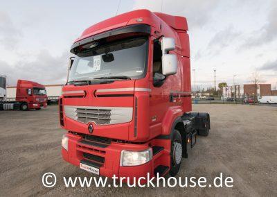 Renault Premium 460 DXi EEV Sattelzugmaschine von TruckHouse in Wittenburg bei Hamburg.