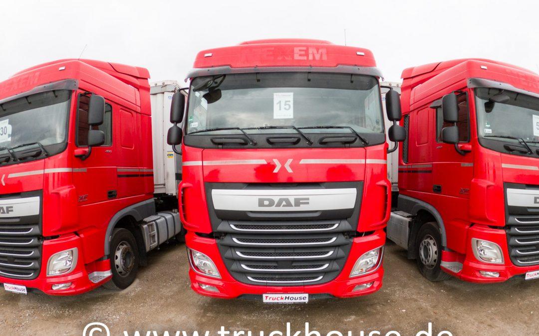 DAF XF 460 FT VIN: 034906